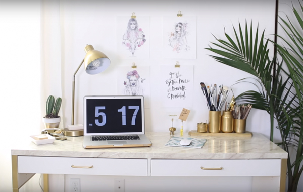 20 Diy Ikea Desk Hacks For Functional Workspace House