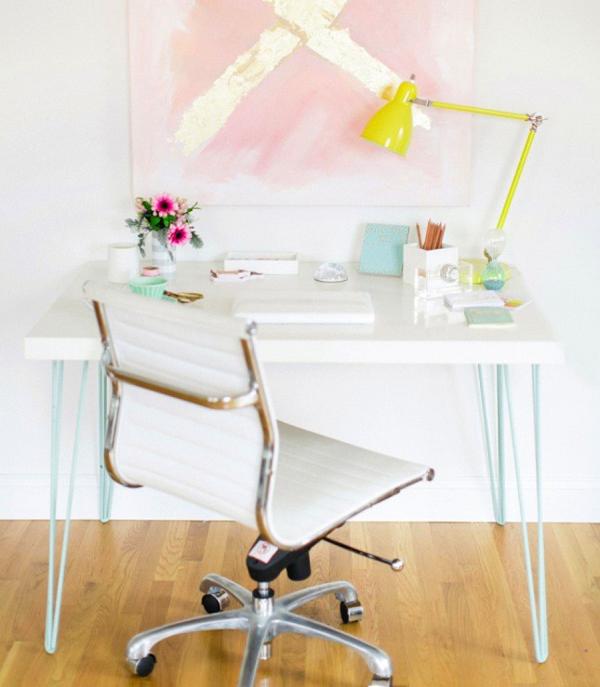 20 diy ikea desk hacks for functional workspace house for Diy ikea desk
