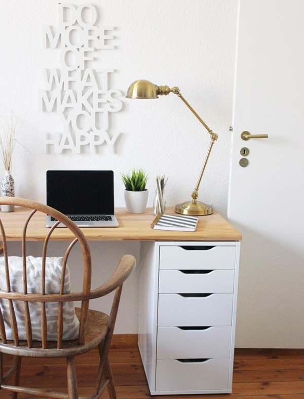 20 diy ikea desk hacks for functional workspace house Diy home office desk plans