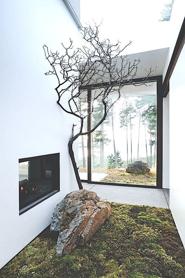 15 mix modern japanese courtyard with nature house for Indoor nature design challenge