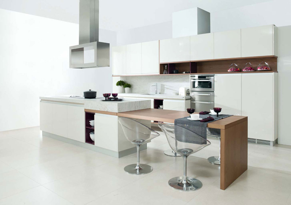 Modern White Kitchen Decor 25 modern and functional kitchenporcelanosa | house design and