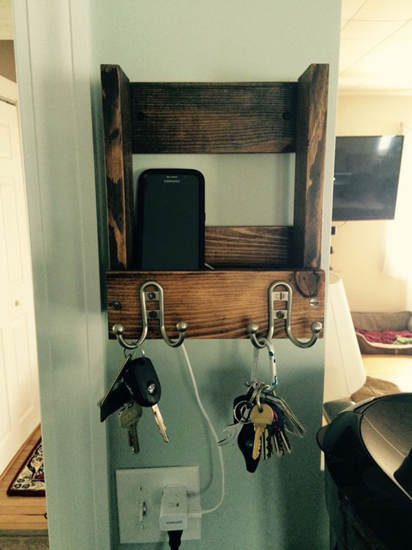 15 Cool And Clever Diy Charging Stations House Design