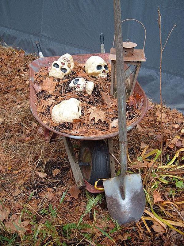Giant Halloween Cauldron