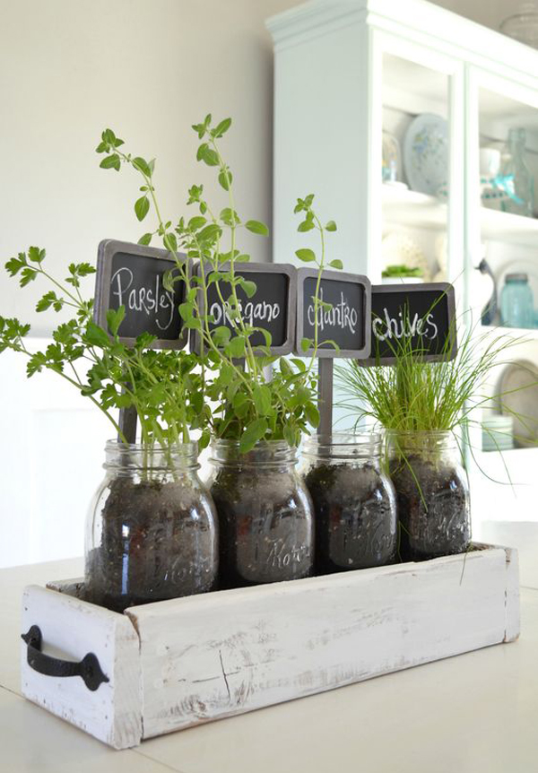 25 Creative Diy Indoor Herb Garden Ideas House Design