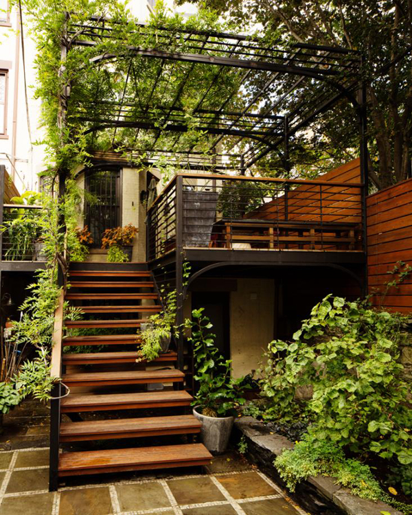 Amazing Over The Deck With Extra Gardening Space