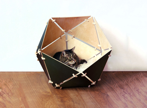Catissa Geobed: Cozy and Stylish Cat Bed