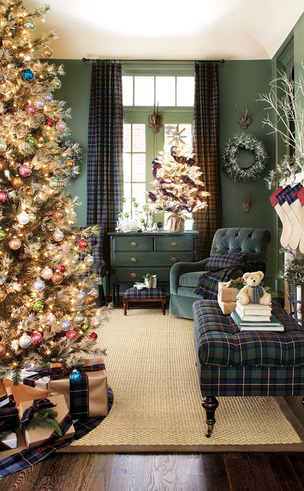 25 Awesome Living Room Design Ideas On A Budget: 25 Awesome Christmas Living Room Ideas