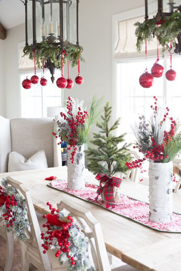 20 diy christmas chandelier with natural ideas house design and green christmas chandelier with red ornament mozeypictures Image collections