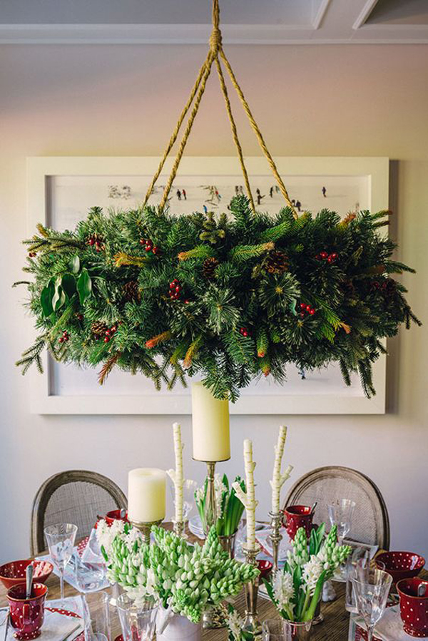 20 DIY Christmas Chandelier With Natural Ideas | House ... Natural House Design Chandelier on design house light fixtures, design house chairs, design house lighting products, design house vanities, design house fans,