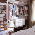 Open Air Wardrobe for Small Spaces