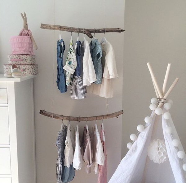 10 Cute Diy Clothes Storage Ideas For Babies House
