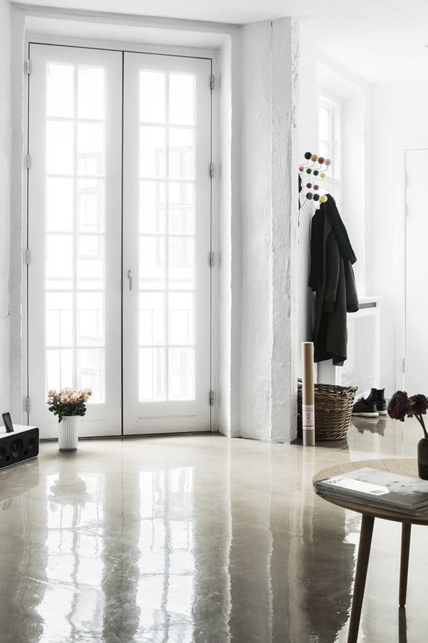 20 Natural Concrete Floors For Your Beautiful Space