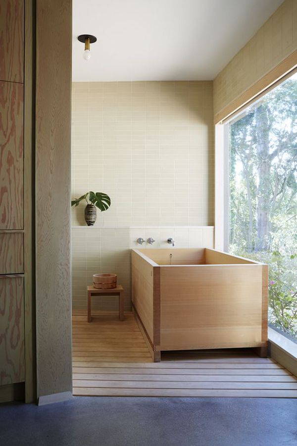Japanese Bathroom With Zen Elements