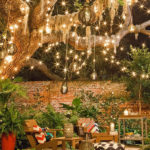 15 Shabby Chic Garden Lighting Ideas