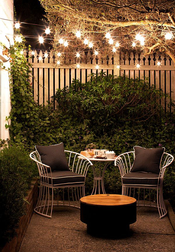 15 Shabby Chic Garden Lighting Ideas House Design And Decor
