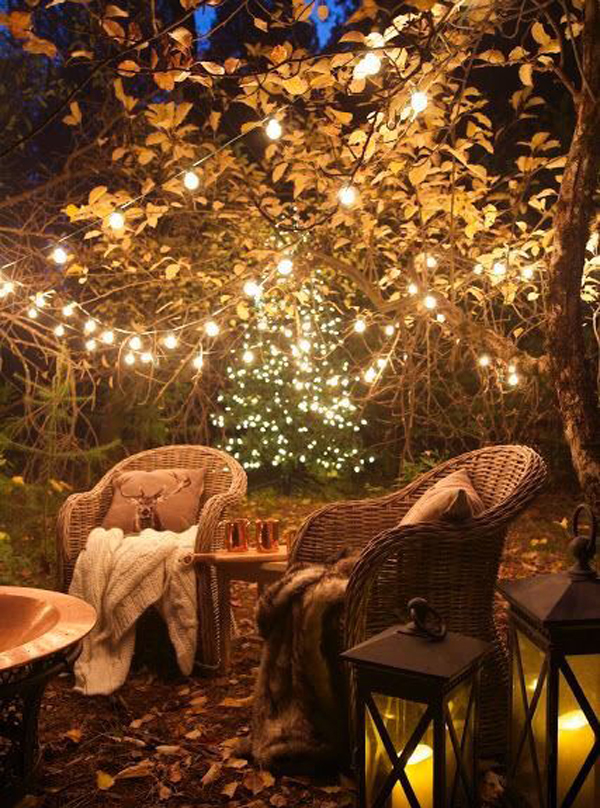 chic garden lighting ideas | 15 Shabby Chic Garden Lighting Ideas | House Design And Decor