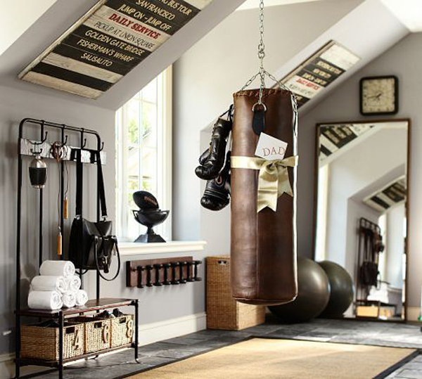 Vintage Garage Ideas: 20 Vintage Sport Decorations For Man Cave