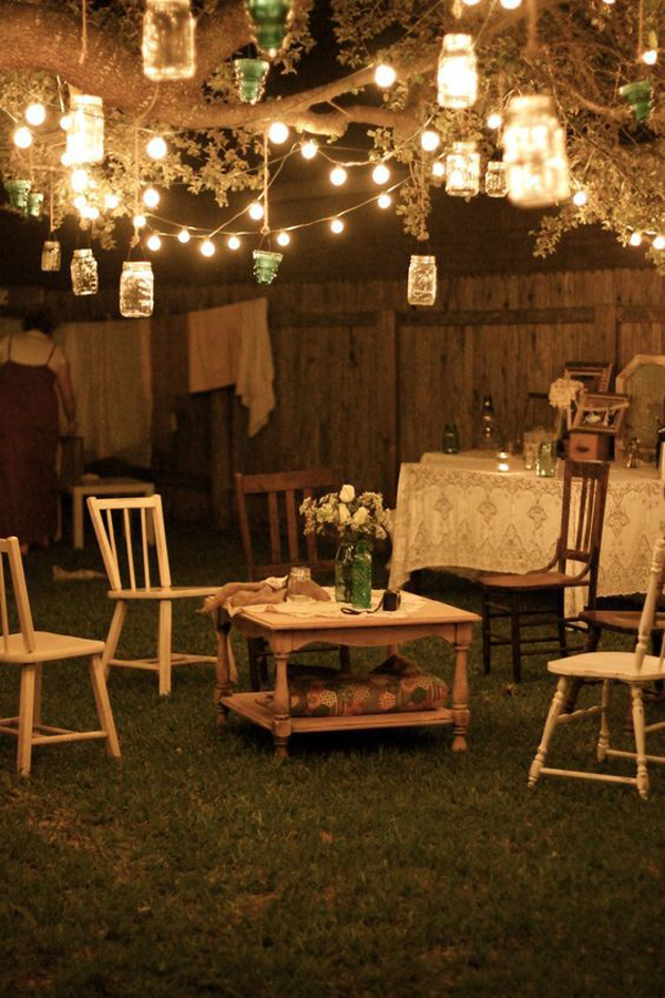 Garden Lighting Ideas 17 gorgeous diy garden lighting ideas Vintage Shabby Chic Garden Lights
