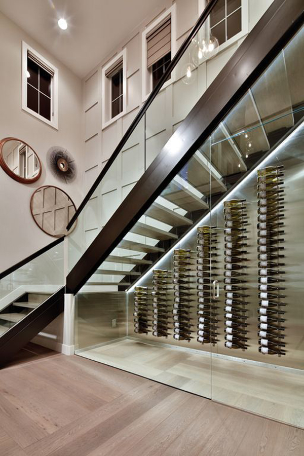 25 Clever Wine Cellar Storage In Under The Stairs House
