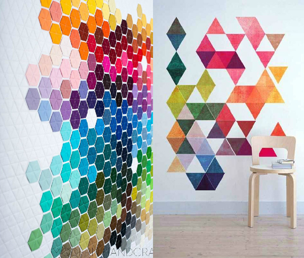 Wall Art Stickers Rainbow : Cheerful rainbow colors for your home decor house