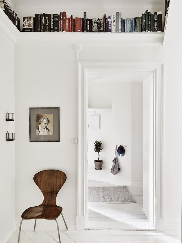 Diy Bookshelf Wall Small Spaces