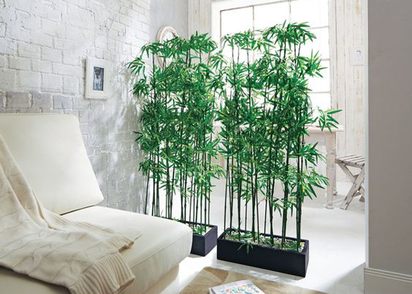 15 natural plant wall ideas for room dividers house - Biombos exterior ikea ...