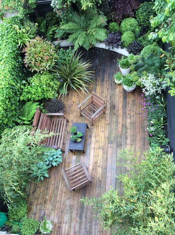 22 Shady And Fresh Gardens To Urban Jungle Ideas House
