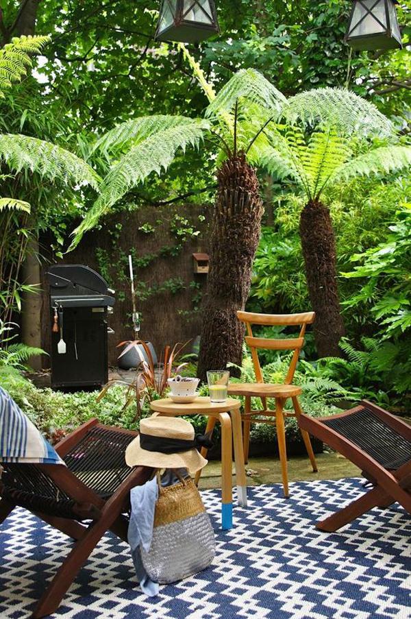 22 Shady And Fresh Gardens To Urban Jungle Ideas