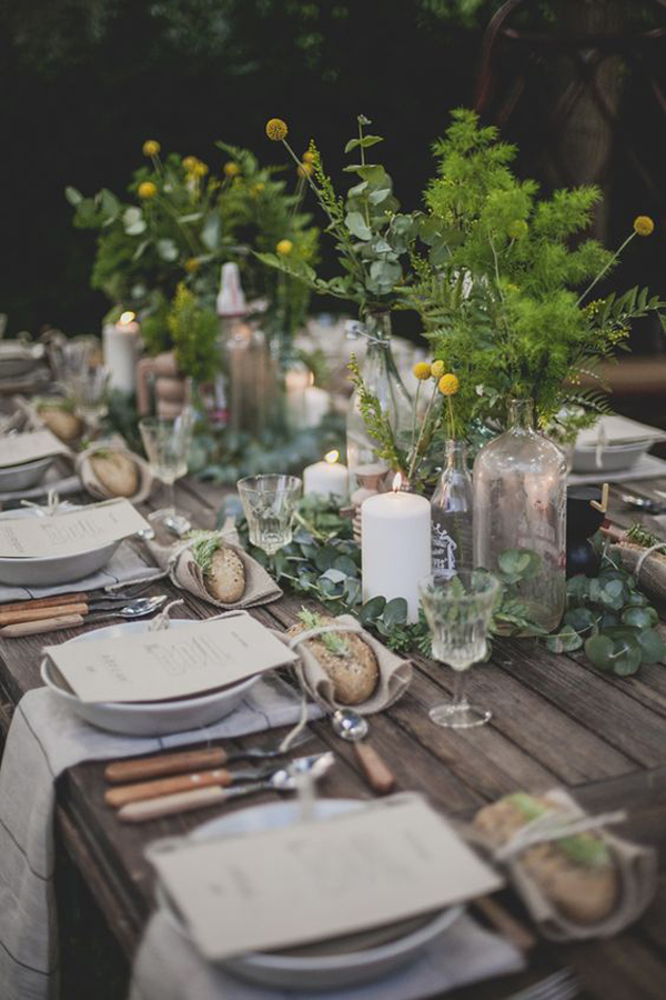 20 rustic table setting ideas to summer celebrate house for Idee gartenparty