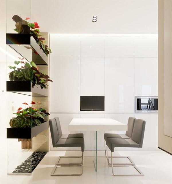 Minimalist Homeschool Room: 15 Natural Plant Wall Ideas For Room Dividers