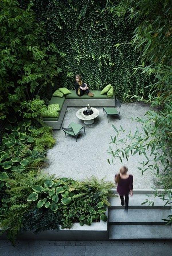 Ten Top Tips For Small Shady Urban Gardens: 22 Shady And Fresh Gardens To Urban Jungle Ideas
