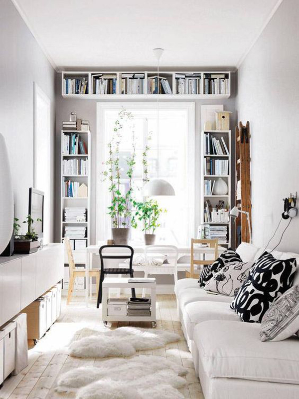 15 Functional Bookshelves For Tiny Spaces