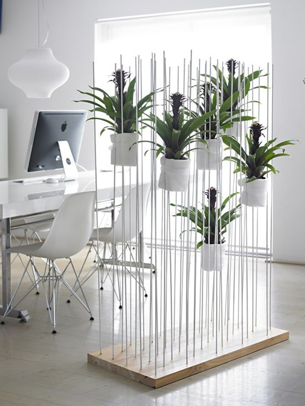 15 natural plant wall ideas for room dividers house for Stylish house dividers