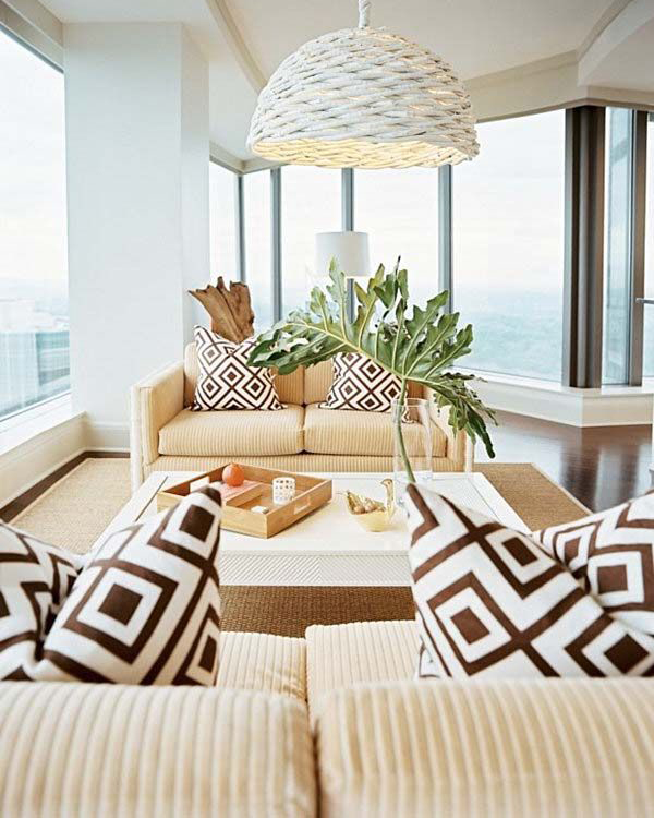 Bright And Colorful Rooms Tropical Style: 25 Mesmerizing Coastal Interiors With Tropical Elements