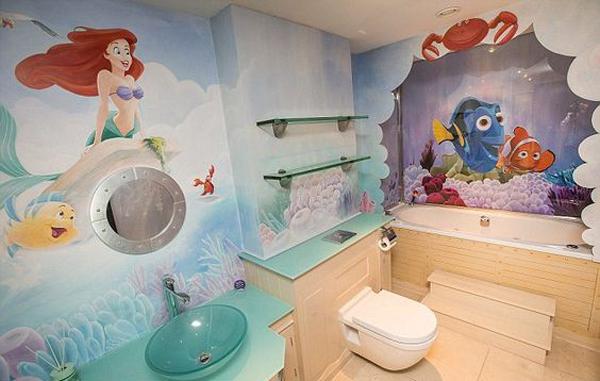 10 finding nemo themed bathroom for kids house design for Disney bathroom ideas