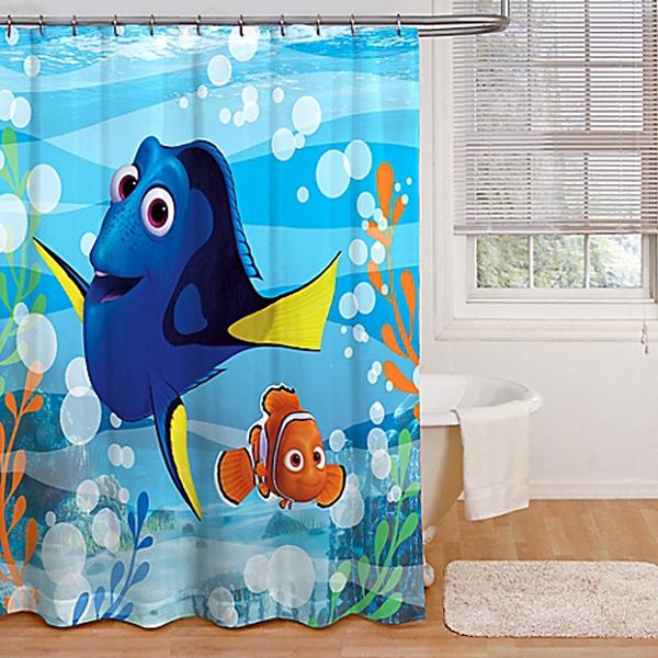 10 finding nemo themed bathroom for kids house design for Finding nemo bathroom ideas