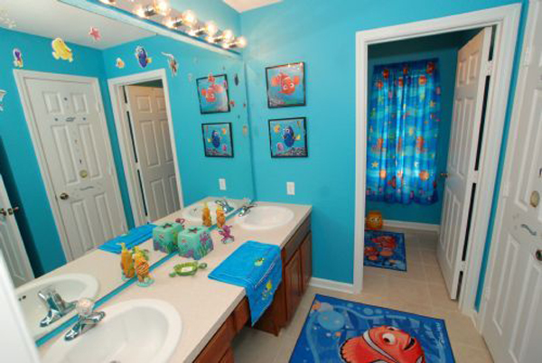 kid bathroom decorating ideas 10 finding nemo themed bathroom for house design 19096
