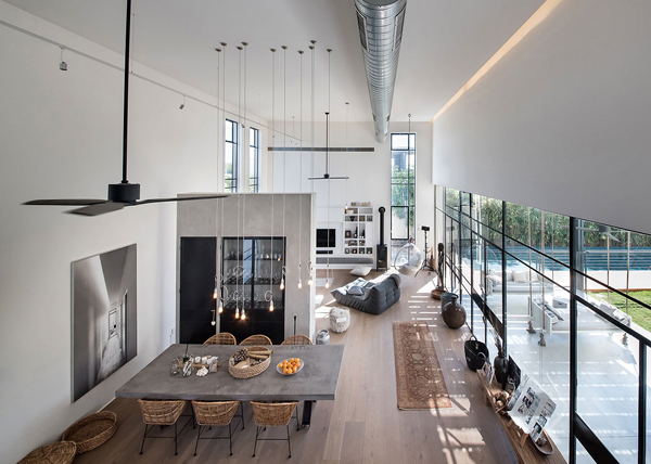 Savion Residence With Industrial Chic Vibe House Design And Decor