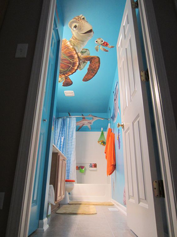 10 Finding Nemo Themed Bathroom For Kids, Finding Nemo Bathroom Decor