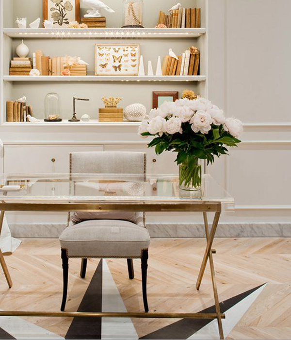 20 Feminine Glass Desks For Modern Workspaces House