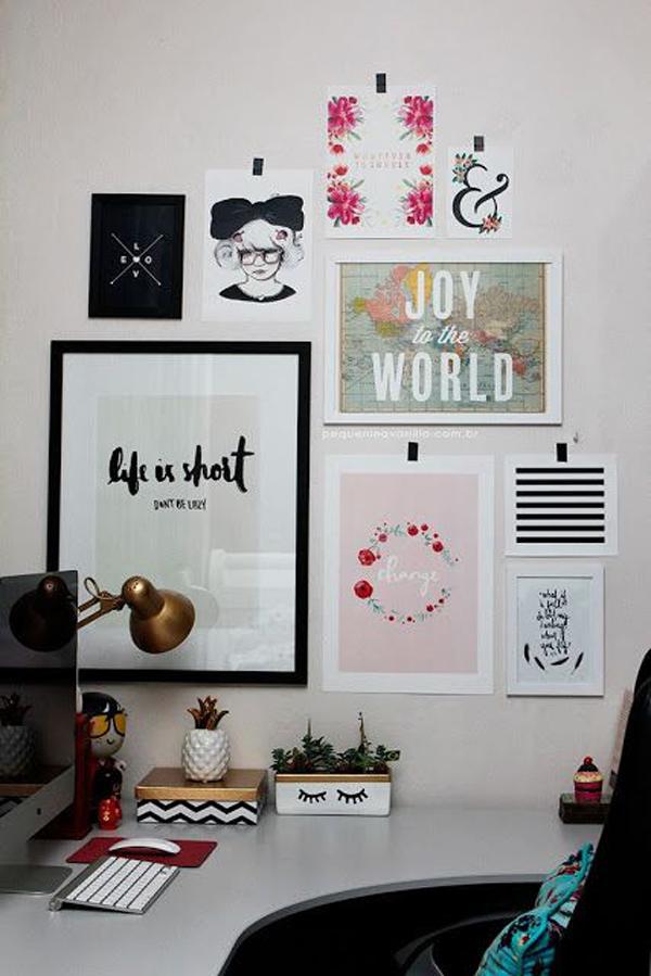 20 creative diy cubicle workspace ideas house design and for Diy minimalist decor