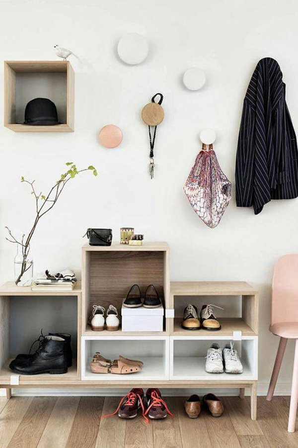 Shoe Storage Solutions Part - 49: 20 Modern And Minimalist Shoe Storage Solutions