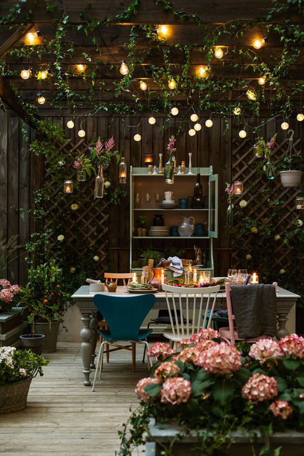 20 Cozy and Romantic Pergola Decor Ideas | House Design ... on Romantic Backyard Ideas id=34738