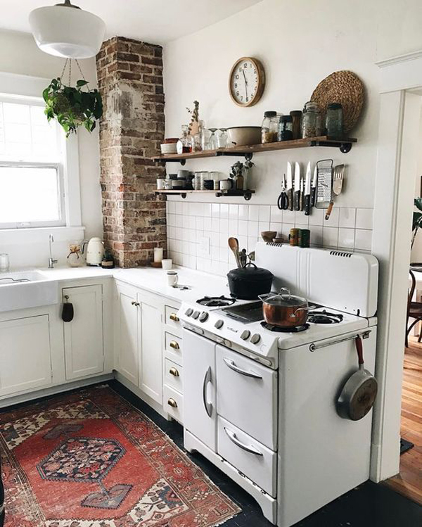 small kitchen rug ideas & 20 Modern and Antique Persian Rug For Your Kitchen | House Design ...