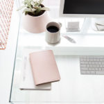 20 Feminine Glass Desks for Modern Workspaces