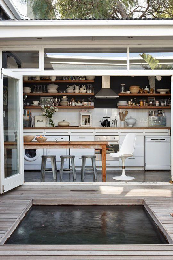 10 Mesmerizing Indoor-Outdoor Kitchen for Summers | House ...