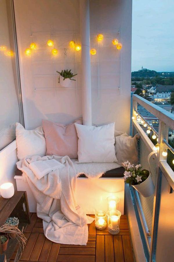 18 Cozy and Romantic Balcony Ideas   House Design And Decor