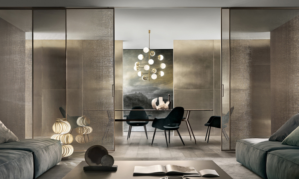 Modern And Aesthetic Sliding Doors From Rimadesio