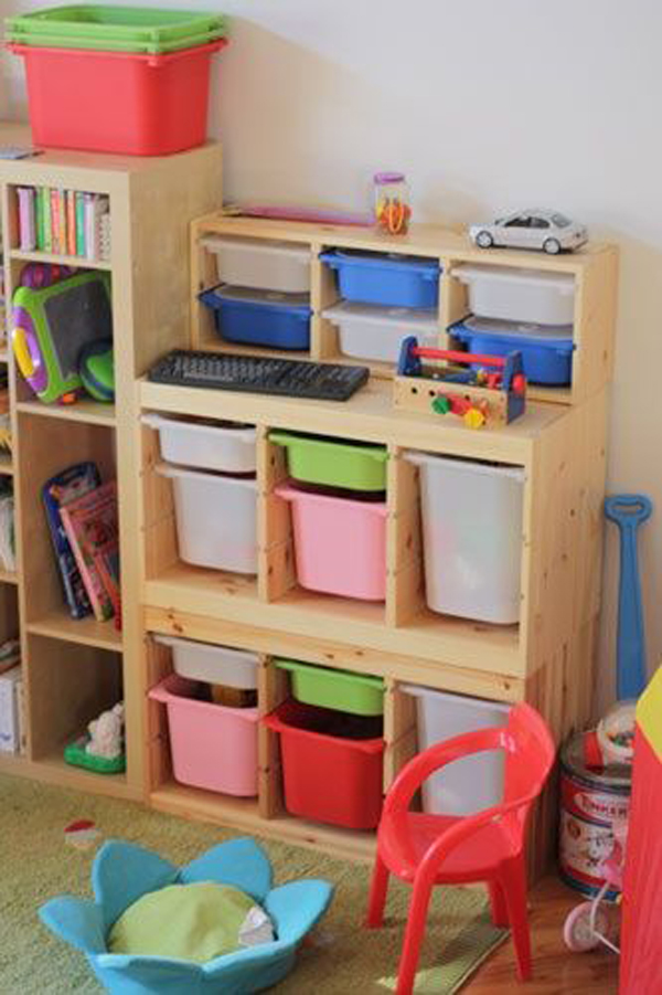 20 Smart Ikea Trofast Ideas For Kids Room Storage House Design And Decor