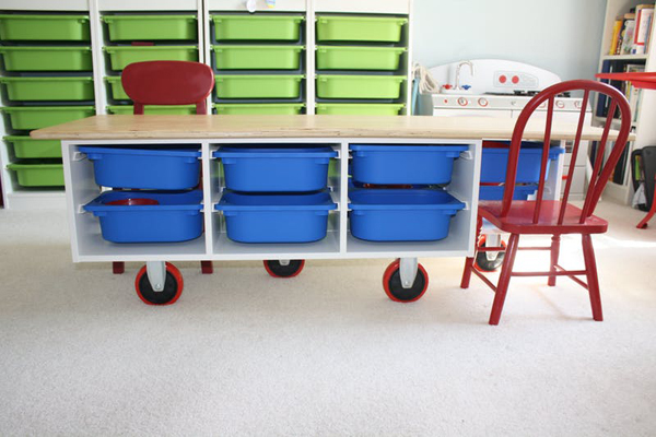 20 Smart Ikea Trofast Ideas For Kids Room Storage